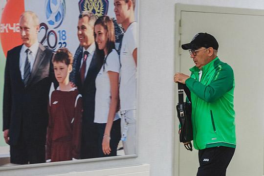 Новость недели вроссийском футболе— отставкаКурбана Бердыеваиз«Рубина»