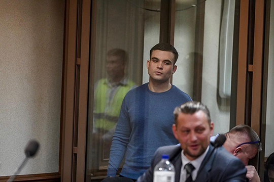Халилов (на фото), помнению суда, виновен всоздании экстремистского сообщества, аАскаров иАрхипов— вучастии внем
