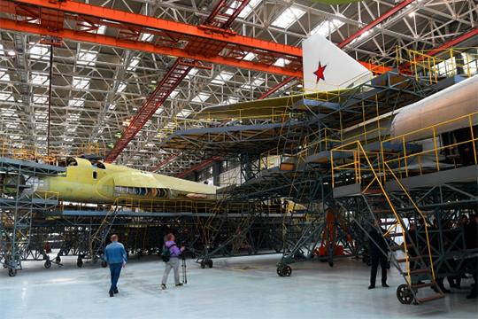 КазГАП— главный игрок впрограмме реконструкции иперевооружения КАЗа. Нанем— обновление всех основных производств, атакже строительство новых производств
