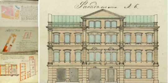 Проектировщики подняли архивные чертежи— как должно было выглядеть здание, стоявшее на пустыре доэтого, инаосновании них фактически один водин нарисовали новый проект