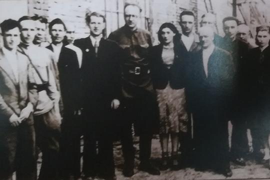 Первостроители Казанского завода РТИ