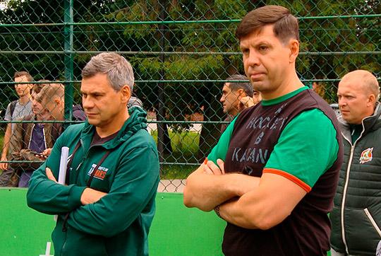 Квартальнов (слева) и его ассистент Павел Зубов