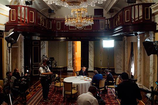 Владимир Путин ответил навопросы американского кинорежиссера, сценариста ипродюсера Оливера Стоуна