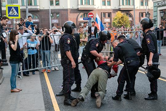 «Не случайно фиксируют довольно критичное отношение не самого агрессивного общества в Москве и России к подчеркнутой агрессии со стороны органов правопорядка»