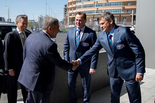 Дмитрий Квартальнов: «Далеко не во всех клубах руководство настолько погружается в дела»