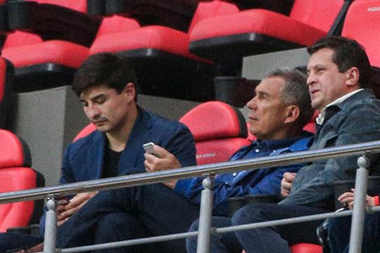 Инициатива по возвращению пива на стадионы принадлежит президенту Татарстана Рустаму Минниханову