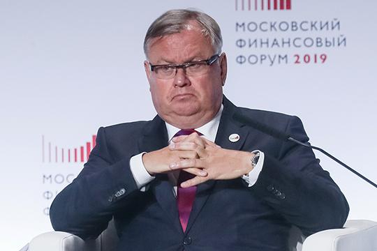 Андрей Костин: «Мы предлагаем ввести необлагаемый минимум доходов физлиц, что позволит решить проблему людей с самыми низкими доходами, освободить их от налогов