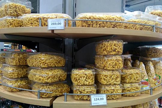 Цена регулярно покупаемой 500-граммовой упаковки чак-чака осталась прежней