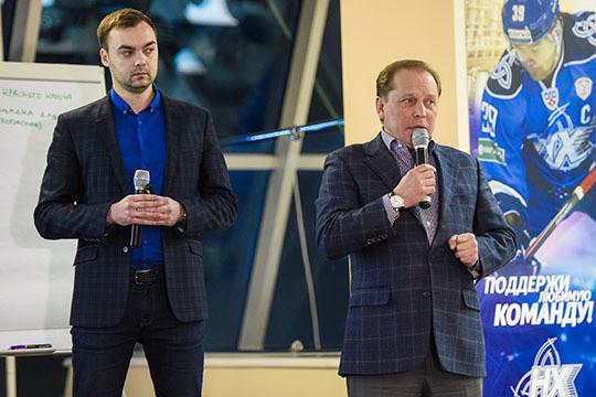 Молодой архитектор Нижнекамска Эмиль Сиразетдинов (слева) все больше завоевывая авторитет в городе. Во многом это заслуга мэра, который неравнодушно относится к облику города, однако и Сиразетдинову есть что предложить
