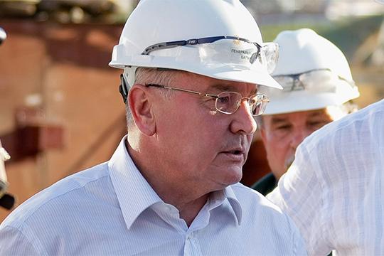 Новой фигурой в рейтинге выступает первый директор «ТАНЕКО», а ныне председатель общественного совета Нижнекамска Хамза Багманов