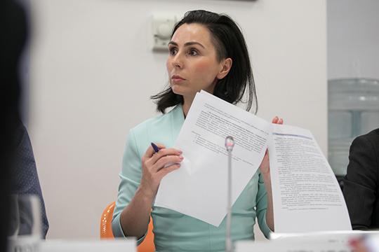 Нина Ткач коротко рассказала о тех выводах, к которым в своем отзыве пришла бизнес-омбудсмен по РТ Венера Камалова