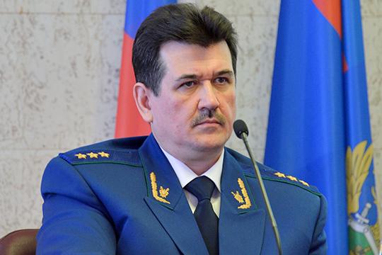 Серьезные планы нарасстановку сил всиловом блоке Татарстана есть узаместителя генпрокурора РоссииЮрия Зайцева, выходца изреспублики
