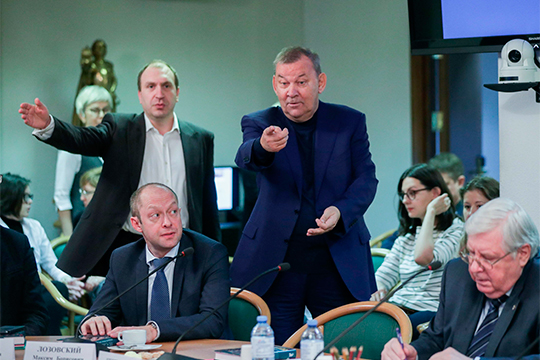Особенно радушно участники дискуссии приветствовали гендиректора Большого театраВладимира Урина