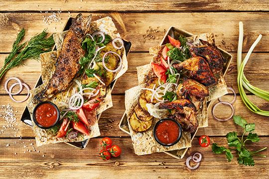 «Грузинская— намой взгляд это очень простая, понятная ивкусная кухня спродуктами, знакомыми для нас сдетства: мука, сыр, мясо иовощи»
