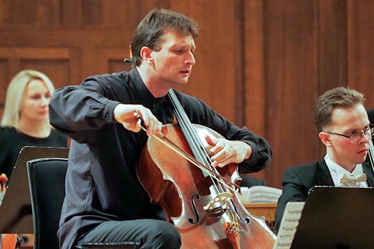Петр Кондрашин выступил солистом в концерте Корндорфа