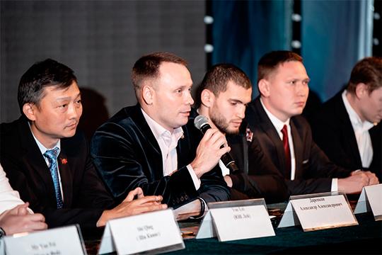 Генеральный директор лиги Александр Даренков