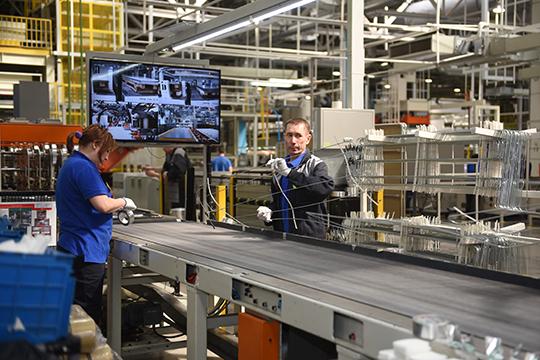 Так, индекс промышленного производства вЧелнах немного подрос, составив 100,2%— впрошлом году ИПП равнялся 101%