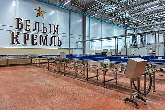 В строительство самого современного в РФ пивзавода, которое началось в Чистополе весной 2017 года, было вложено примерно 5,6 млрд рублей