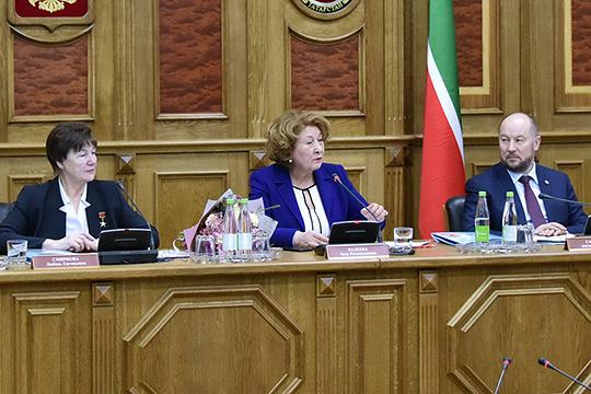 «В Общественной палате свой генерал тоже должен быть», — с юмором представила Валеева своего зама Нугуманова