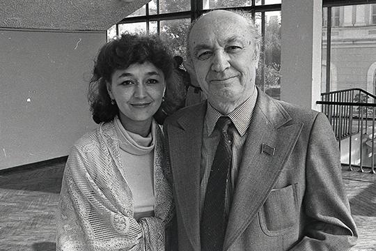 (Венера Ганеева и Назиб Жиганов, 1983 г.)
