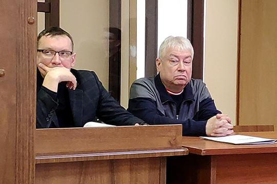 Роберт Мусин с адвокатом Алексеем Клюкиным