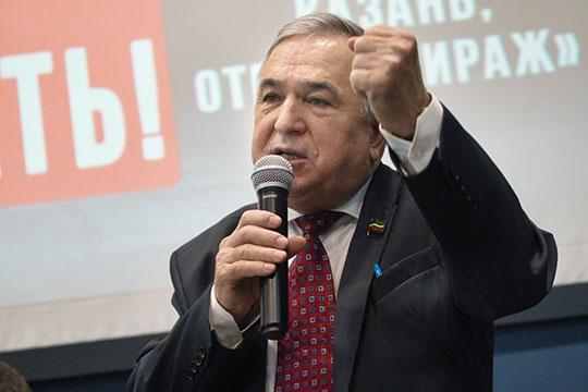Хафиз Миргалимов напомнил, что стратегическая задача КПРФ — объединение всех левых сил в борьбе с существующим режимом