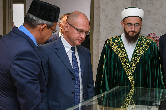 Сегодня в Болгарской исламской академии состоится первое заседание Попечительского совета, которое, судя по всему, возглавит первый заместитель главы АП РФ Сергей Кириенко