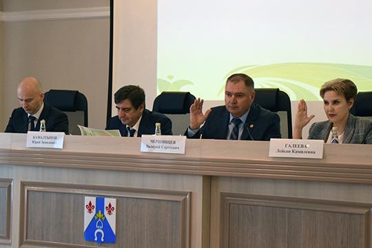 Валерий Чершинцев: «Поэтому мною перед управлением сельского хозяйства поставлена задача в 2020 году добиться валового сбора зерна не менее 50 тысяч тонн»