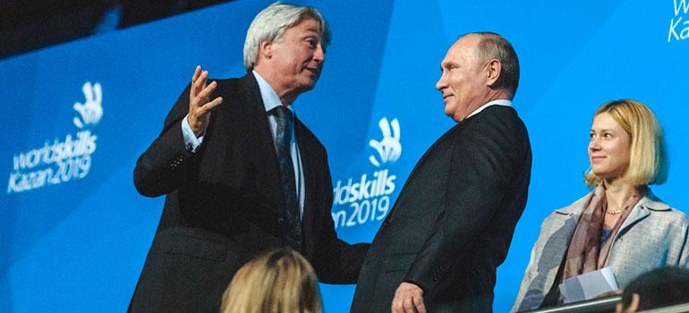 Казань приняла WorldSkills-2019: Путин назвал столицу РТ«блестящим, энергично развивающимся городом»