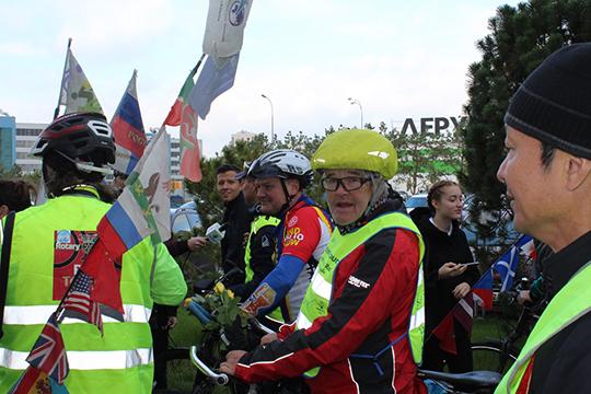 Велосипедист из Германии Мартин Крик (Martin Krick)