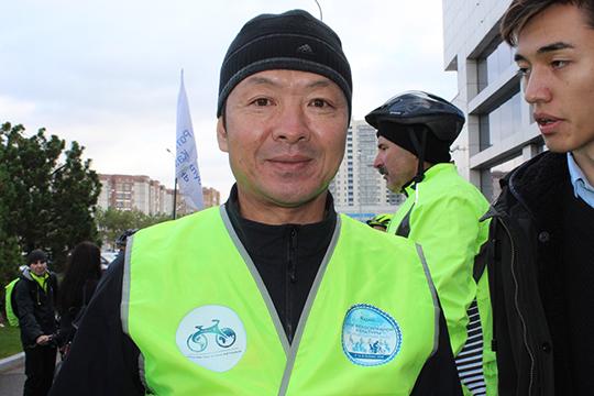 Президент ассоциации велосипедистов провинции и города Харбин (КНР) мистер Сонг (Song Lizheng)