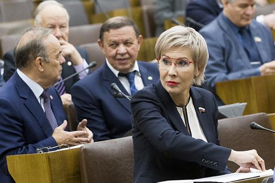 С интересным докладомвыступила депутат Госдумы РФОльга Павлова