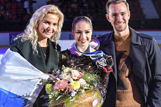 Алина Загитова стала первой вХельсинки: почему она нерада?