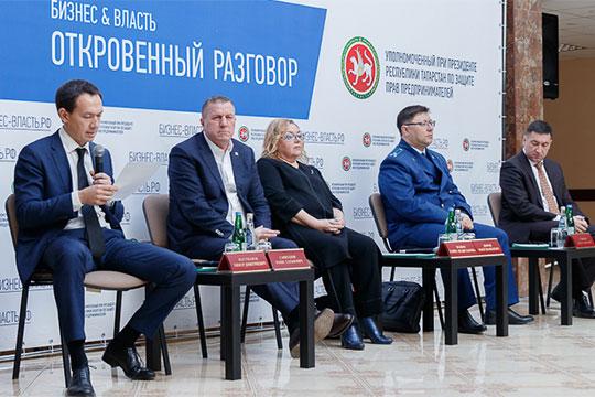 Очередное выездное совещание порайонам Татарстана провел накануне вместе сцелым десантом бизнес-омбудсменТимур Нагуманов—заодин день онвстретился спредпринимателями двух районов