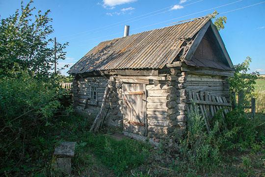 На этом участке в Старых Бурундуках жил брат деда Нилова