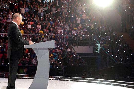 «Сегодня ключевой элемент вобразе Путина— это защитник. Онзащищает прежде всего отвнешних угроз. Номыбы хотели, чтобы онзащищал еще иотвнутренних»