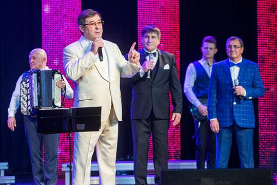 Аншлаговым концертом отметил вчера свой 59-й день рождения Салават Фатхетдинов