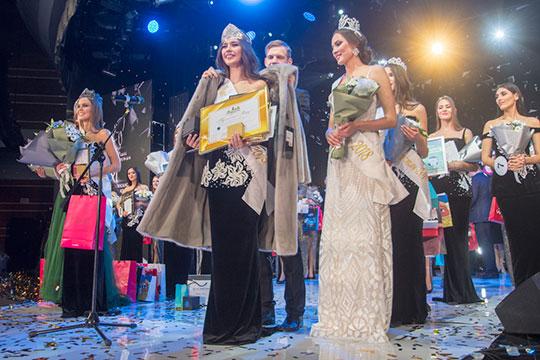 Накануне в «Пирамиде» вновь выбирали первую красавицу республики — корону «Мисс Татарстан» и традиционную шубу получила Ралина Арабова, выигравшая в конкурсе со второй попытки