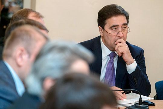Шамиль Мингазов известен Татарстану как человек из круга «энергетического короля» республики Ильшата Фардиева (на фото)