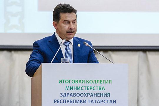 Доклад Садыков начал с положительных новостей. Итогом прошедшего года стало сохранение положительной тенденции в демографической ситуации