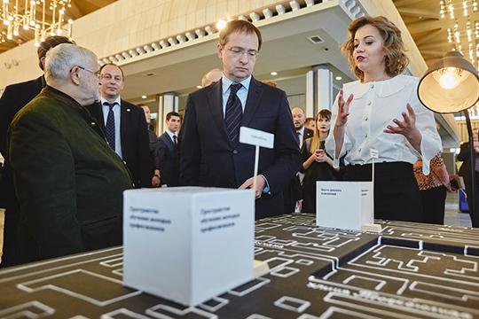 На прошедшей итоговой коллегии минкульта РТ презентовали проект «Культурный квартал центра Казани», куда входит и здание «Адониса»