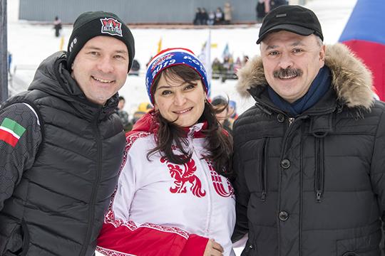 Лейла Фазлеевабыла вэтом году самой высокопоставленной бегуньей на«Лыжне России»