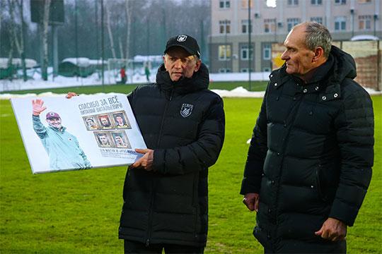 Новость о том, что Виталий Кафанов (справа) покинул «Рубин», стала шоком для публики