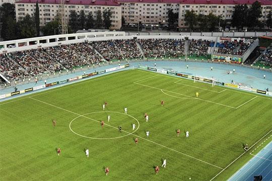 Стадион «Нефтяник» в Уфе