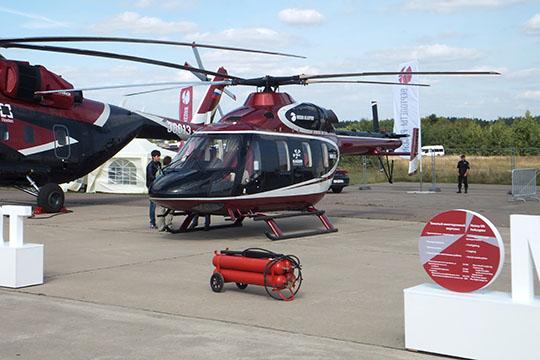 Вертолет «Ансат» воблике лимузина Aurus начали прорабатывать холдинг «Вертолеты России» и институт НАМИ