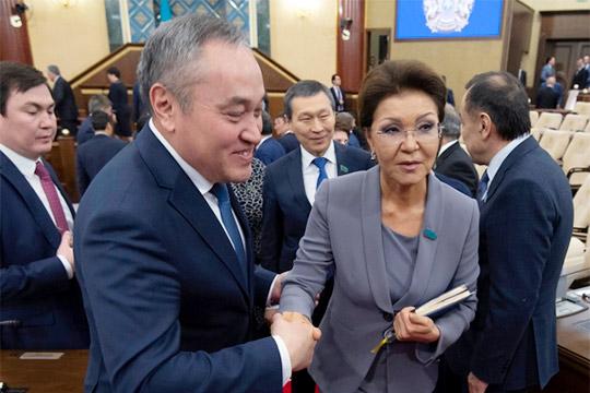 Дочь Елбасы,Дарига Назарбаева, была провозглашена спикером верхней палаты казахского парламента