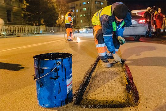 3,2млрд рублей выделено на ремонт казанских дорог.Причем 2,2млрд дает казна республики, еще 1млрд рублей— федеральный бюджет