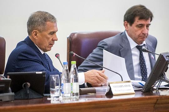 Рустам Минниханов: «Каждый украденный рубль влечет засобой еще большие потери»