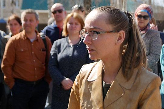 Вероника Галеева: «Мы уже больше полутора лет боремся против карьера, а сейчас к нам хотят присоединить массовую застройку»