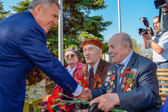 Рустам Минниханов: «Мы должны помнить наших героев»